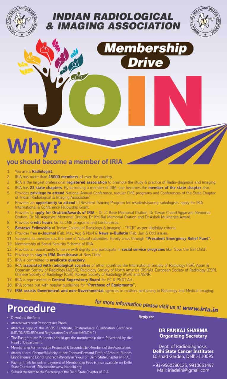19 reasons to join IRIA and benefits of IRIA