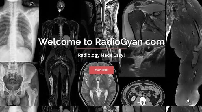 RadioGyan.com Free Radiology Website Privacy policy