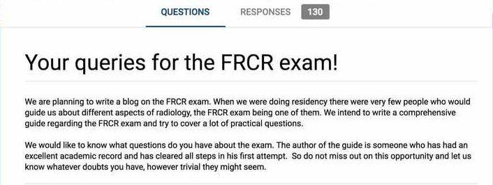 FRCR form RadioGyan.com