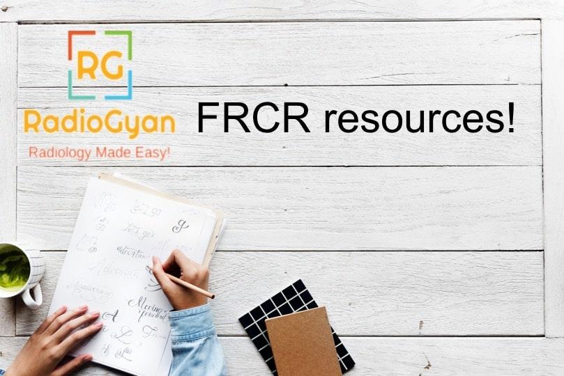 FRCR resources RadioGyan