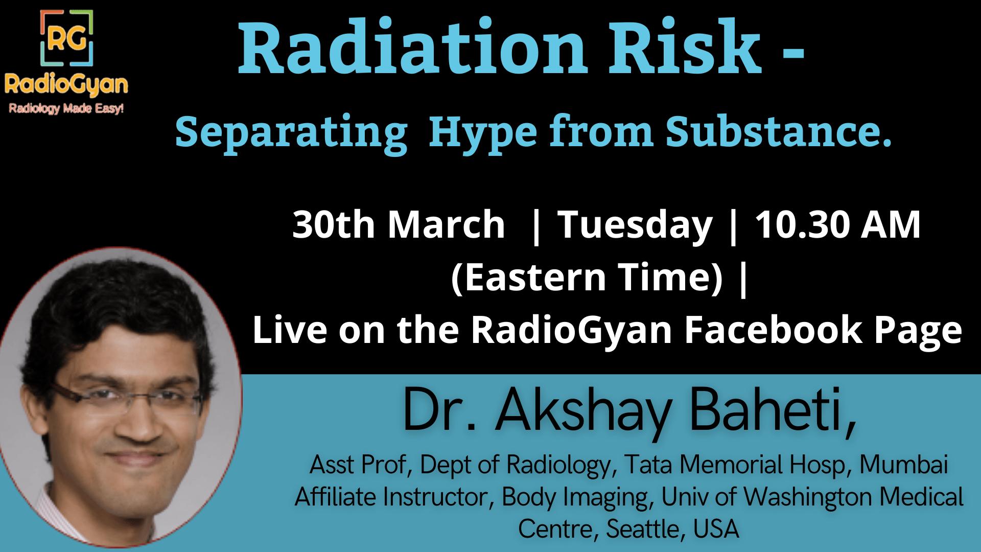 Radiation Risks Demystified